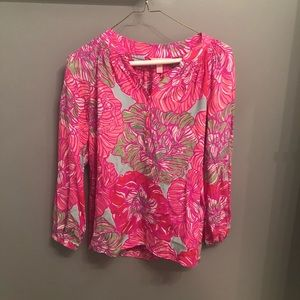 Lilly Pulitzer Tunic Blouse